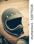 retro helmet | Shutterstock . vector #528770128