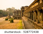 Morning In Angkor Wat. The...