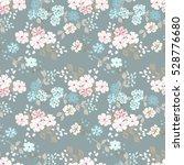 simple cute pattern in small... | Shutterstock .eps vector #528776680