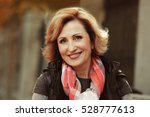 closeup portrait of gorgeous... | Shutterstock . vector #528777613