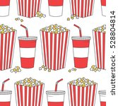 collection of popcorn and... | Shutterstock .eps vector #528804814