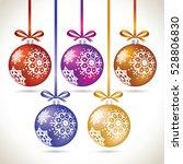 Christmas Balls Colorful...