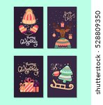 collection of vector christmas... | Shutterstock .eps vector #528809350