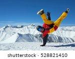 strong man in a sportswear...   Shutterstock . vector #528821410