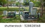 sewage pumping station | Shutterstock . vector #528828568