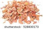 colorful pencil shavings... | Shutterstock . vector #528830173