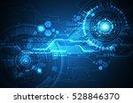 vector abstract background... | Shutterstock .eps vector #528846370