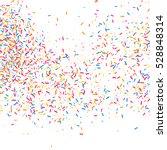 colorful explosion of confetti. ... | Shutterstock .eps vector #528848314