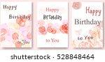 floral frame collection. set of ... | Shutterstock .eps vector #528848464