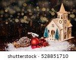 Rustic Winter Christmas Scene...