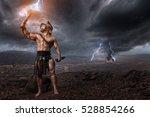 Ancien Gladiator Standing In...