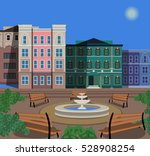 town square   Shutterstock .eps vector #528908254