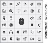computer mice icon. digital