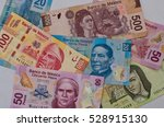 Different Mexican Money Bills...