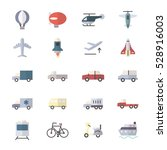 car and transportation icons... | Shutterstock .eps vector #528916003