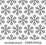 monochrome geometric seamless... | Shutterstock .eps vector #528919426