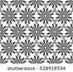 monochrome geometric seamless... | Shutterstock .eps vector #528919534