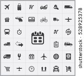 schedule icon. delivery icons... | Shutterstock . vector #528925378