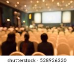 blurred audience  in ... | Shutterstock . vector #528926320