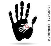 vector concept or conceptual... | Shutterstock .eps vector #528926434