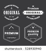 set of white tag badge banner... | Shutterstock .eps vector #528930940