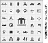 bank icon. city icons universal ... | Shutterstock . vector #528933634