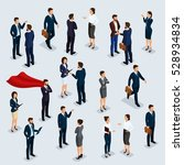 people isometric 3d ... | Shutterstock .eps vector #528934834