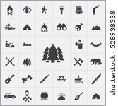 forest icon. camping icons...   Shutterstock . vector #528938338