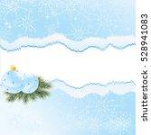 blue christmas background | Shutterstock .eps vector #528941083