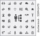 business strategy icons... | Shutterstock . vector #528941470