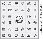 business planning icons... | Shutterstock . vector #528941503