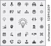 business planning icons...   Shutterstock . vector #528941839