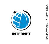 vector logo internet