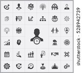business planning icons... | Shutterstock . vector #528942739