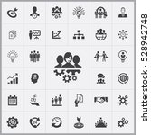 business planning icons... | Shutterstock . vector #528942748
