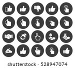 hand icons set | Shutterstock .eps vector #528947074