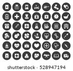 medical icons set | Shutterstock .eps vector #528947194