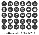 management icons set | Shutterstock .eps vector #528947254