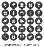 christmas icons set | Shutterstock .eps vector #528947878
