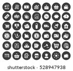 commerce icons set | Shutterstock .eps vector #528947938