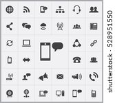 sms icon. communication icons... | Shutterstock . vector #528951550