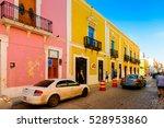 palenque  mexico   nov 4  2016  ... | Shutterstock . vector #528953860