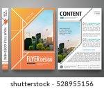 portfolio design template...   Shutterstock .eps vector #528955156