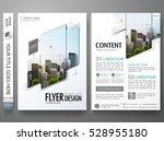 portfolio design template... | Shutterstock .eps vector #528955180