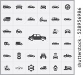 car icons universal set for web ... | Shutterstock . vector #528956986