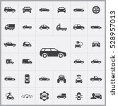 car icons universal set for web ... | Shutterstock . vector #528957013
