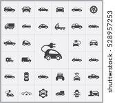 electro car icon. car icons... | Shutterstock . vector #528957253