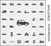 car icons universal set for web ... | Shutterstock . vector #528957649