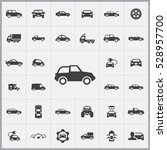 car icons universal set for web ... | Shutterstock . vector #528957700