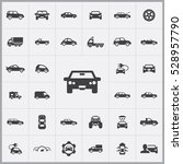 car icons universal set for web ... | Shutterstock . vector #528957790